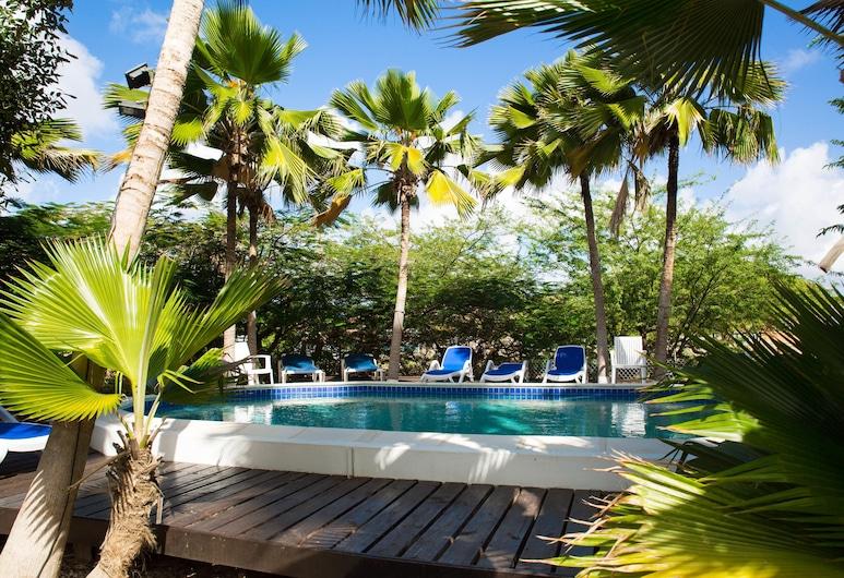 Tropical Inn Resort, Kralendijk, สระว่ายน้ำกลางแจ้ง