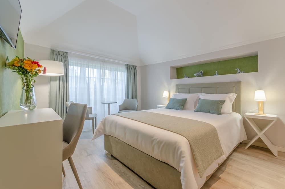 Quarto Duplo Superior, 1 cama queen-size, Vista Jardim - Imagem em Destaque