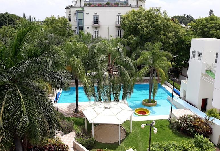 The Lorian Club, Yautepec, סוויטת סטודיו דה-לוקס, מספר מיטות, ללא עישון, נוף למגרש הגולף (Jacuzzi), נוף מחדר האורחים