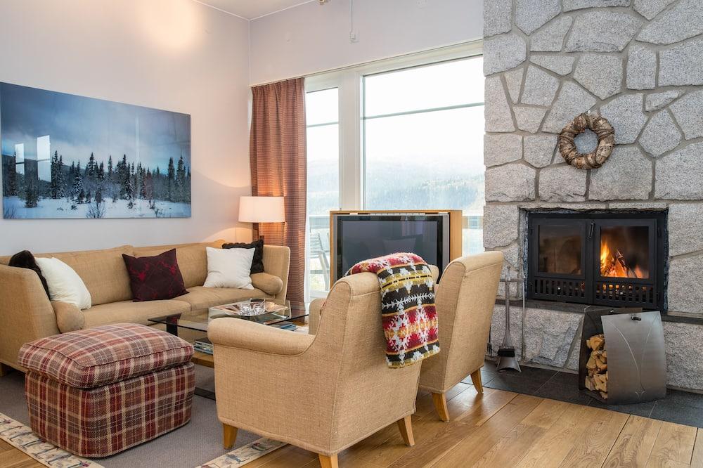Departamento Deluxe, vista a la montaña (8 persons) - Sala de estar
