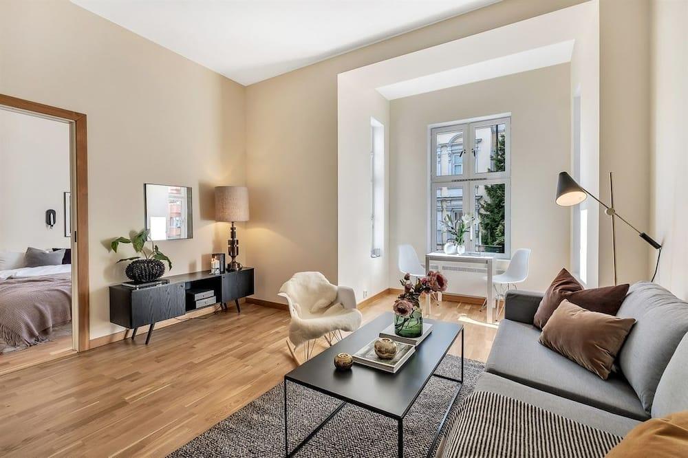 Lägenhet - 1 queensize-säng med bäddsoffa - icke-rökare - Bild