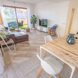 Apartmán, 3 ložnice, nekuřácký, terasa - Obývací pokoj