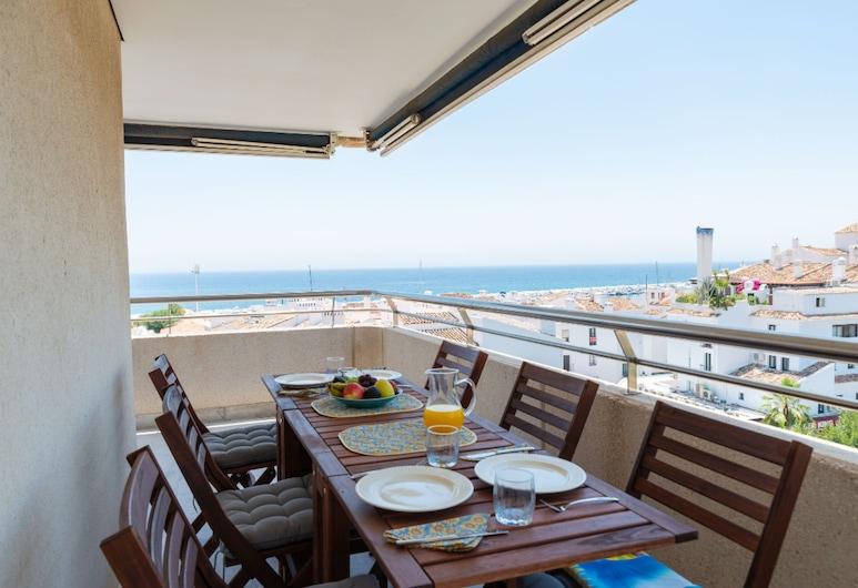 Puerto Banús Sea Front, Marbella, Appartement, 3 chambres, non-fumeurs, terrasse, Terrasse/Patio