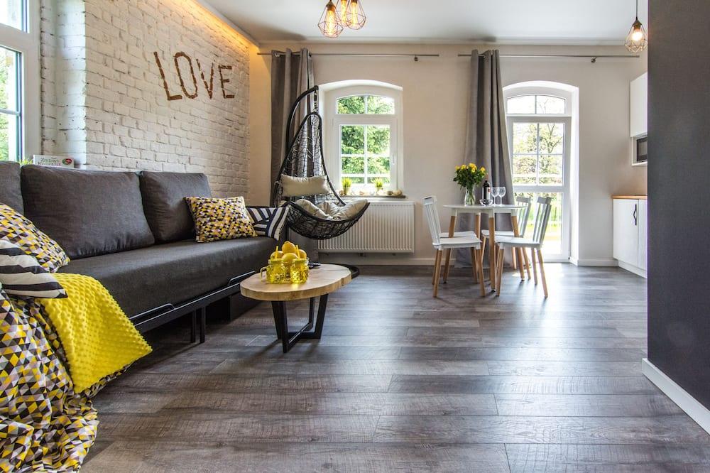 Apartament typu Deluxe - Powierzchnia mieszkalna