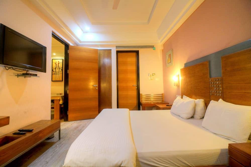 Deluxe-Zimmer - Blick auf die Stadt