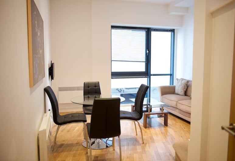 Austin Suites, London, Leilighet – city, 1 kingsize-seng, ikke-røyk, Oppholdsområde