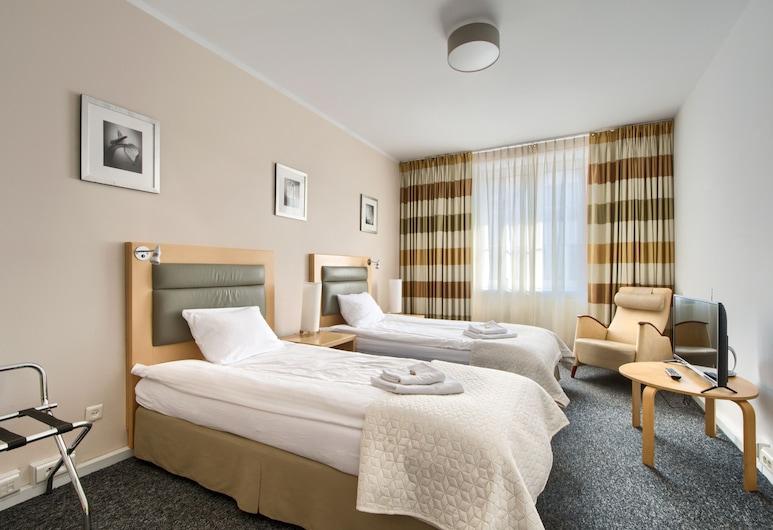 404 Rooms & Apartments, Warszawa, Classic-rum (with shared bathroom), Vardagsrum