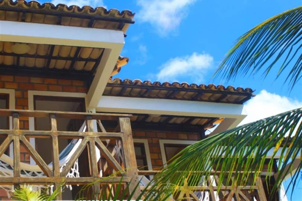Standard-Doppelzimmer, Nichtraucher, Gartenblick - Balkon