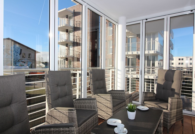 Wohnen am Yachthafen W46, Cuxhaven, Building design