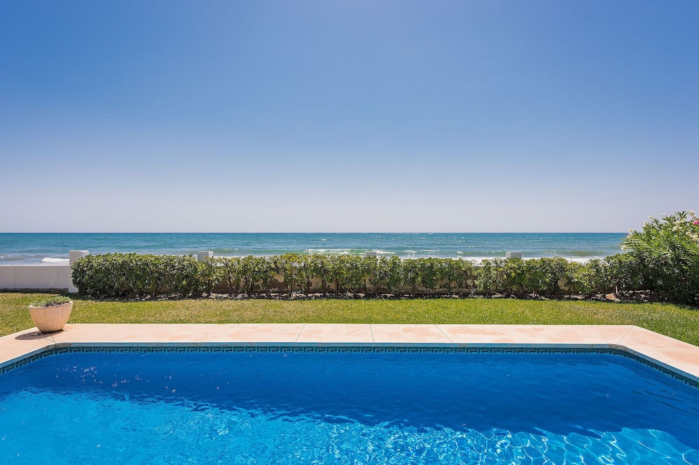 Family Villa, 3 Bedrooms, Sea View, Beachfront - View from room