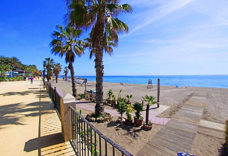 1105 Beachfront Apartment Marbella Golden Mile 4 Pools, Marbella, Spiaggia