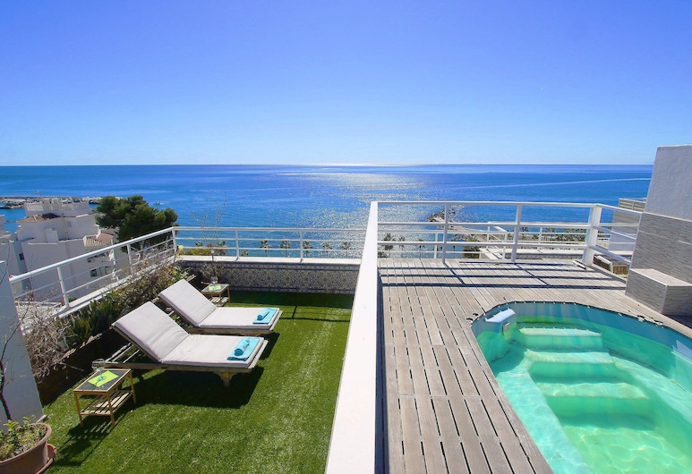 1149 Unique Beachfront Penthouse 400M2 Marbella Center, Marbella, Jumta baseins