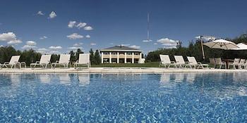 Mynd af Estancia Mendoza Wine Hotel í Mendoza