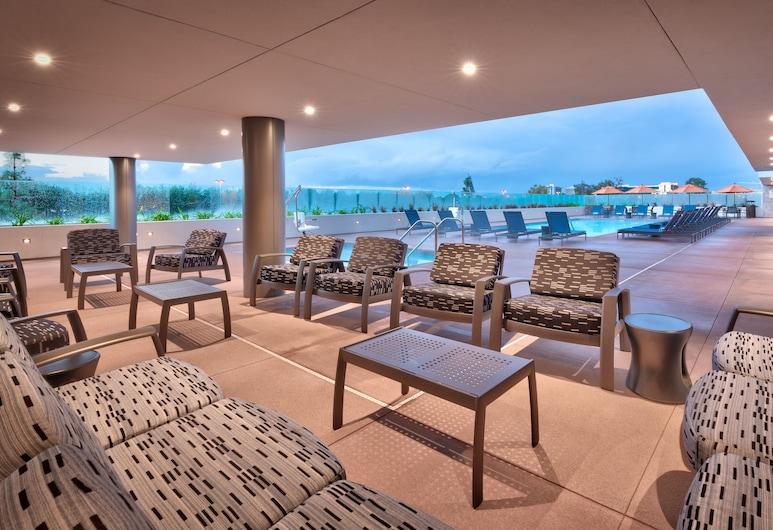 Hampton Inn  & Suites Anaheim Resort Convention Center, Анахайм, Терраса/ патио