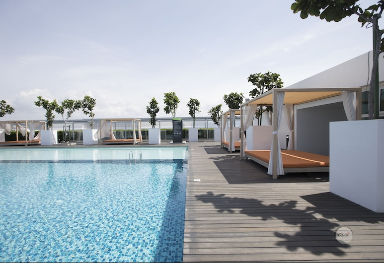 Borneo Aloha Sutera 2 Bedroom Units, Kota Kinabalu, Rooftop Pool