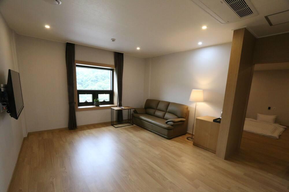 Deluxe-Zimmer (Ondol) - Wohnzimmer