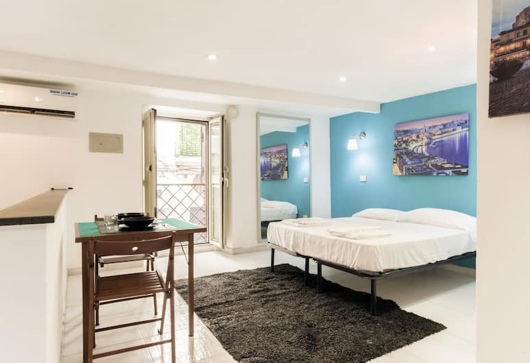 Chia Deluxe, Naples, Appartement, 1 grand lit, Chambre