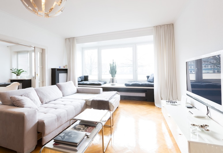 Hannover Business Apartments , Hannover, Apartment, 2 Bedrooms (City), Living Area