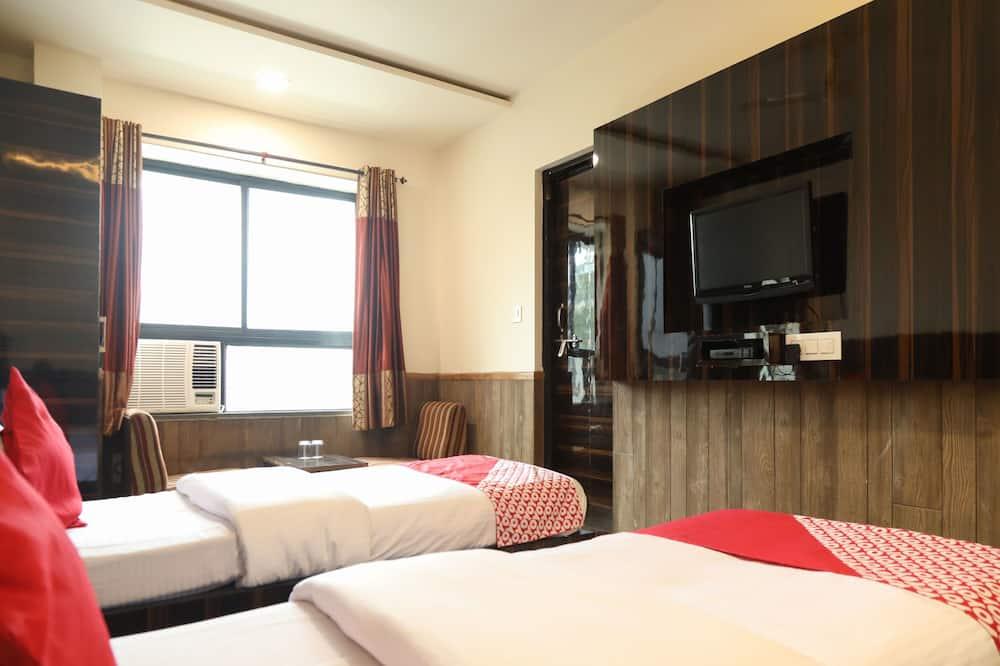 Habitación con 1 cama doble o 2 individuales - Televisión