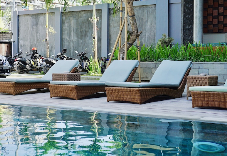 Perissos Echo Beach, Canggu, Deluxe Room, 1 King Bed, Pool View, Guest Room View