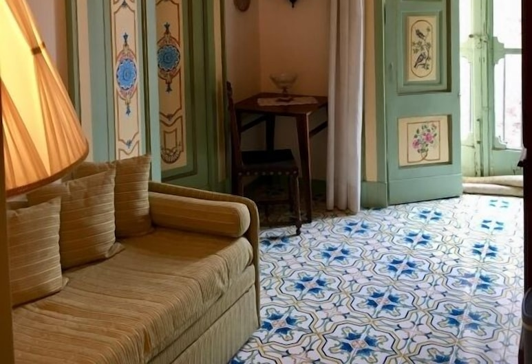 Old Taverna Sorrentina, Sorrent, Suite, Wohnbereich