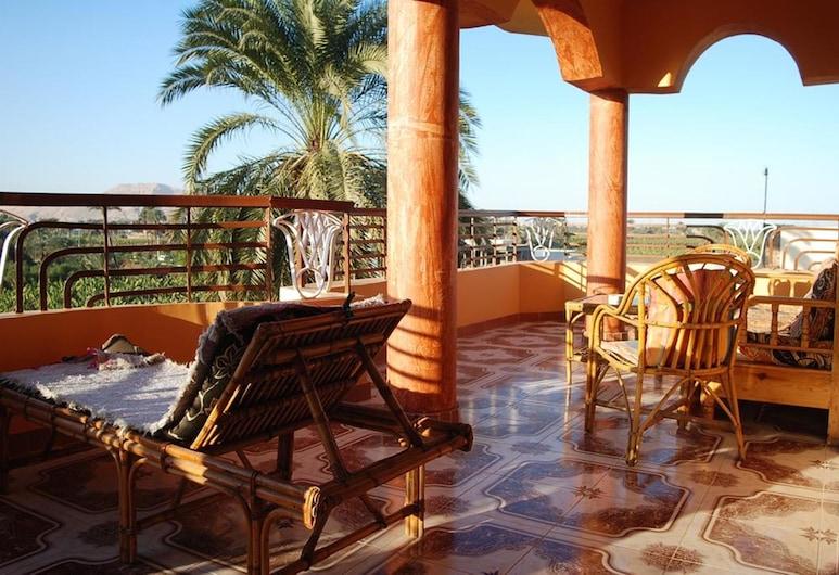 Al Gezera Apartments, Luxor, Apartament, 3 sypialnie, Taras/patio