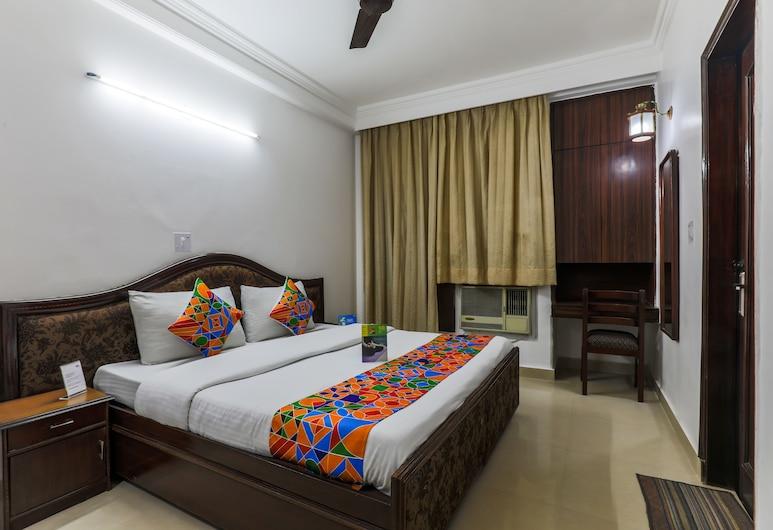FabExpress Hemkunt Mansion, Noida, Chambre Deluxe, 1 lit double, non-fumeurs, Chambre