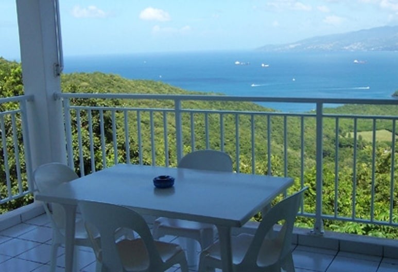 Studio in Les Anses-d'arlet, With Furnished Balcony and Wifi - 4 km From the Beach, Les Anses-d'Arlets