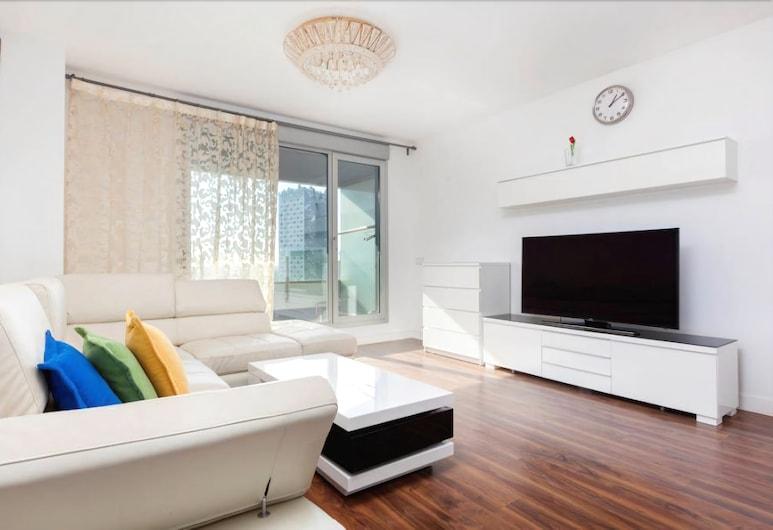Akira Flats Fira Gran Via Barcelona, Л'Оспіталет-де-Льобрегат, Апартаменти, 3 спальні, Вітальня