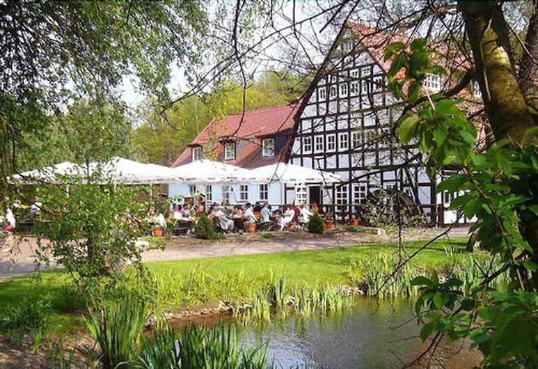 Springbach-Mühle Belzig, Bad Belzig, Hotelfassade
