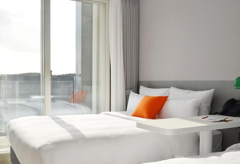 GL City Hotel Incheon Airport, Incheon, Kamar Twin Keluarga, teras (ECO-FRIENDLY), Pemandangan Kamar Tamu