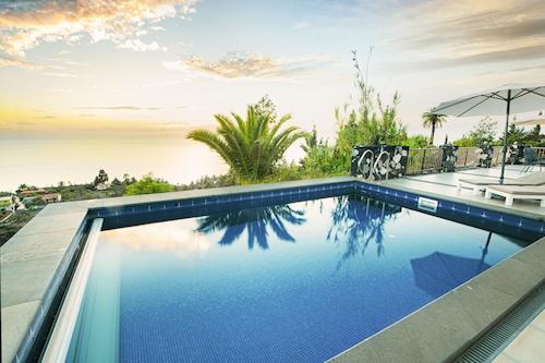 ヴィラブエナビスタ、日当たりの良い島の西側、大西洋の眺め、温水プール/