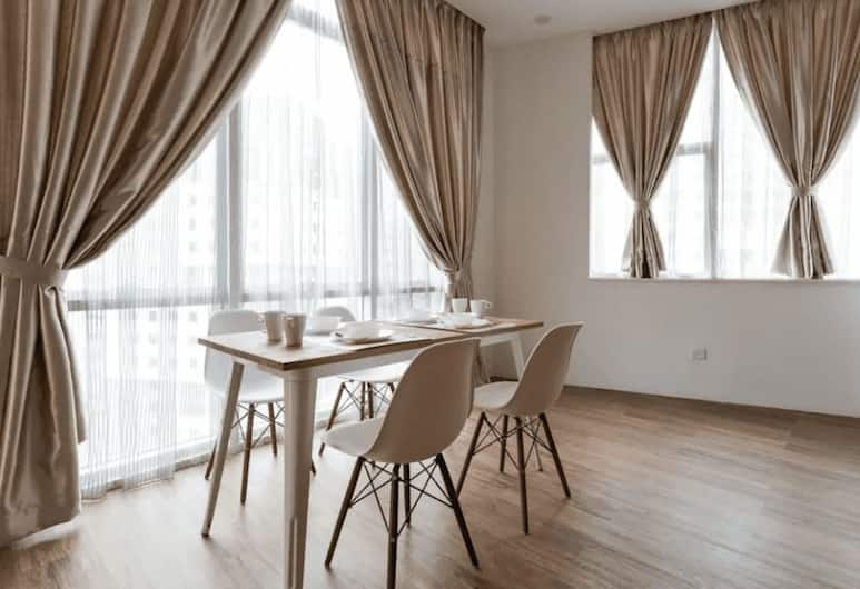 吉隆坡市中心武吉免登 3 房 2 衛辛克酒店, 吉隆坡, 公寓, 3 間臥室, 非吸煙房, 客房內用餐