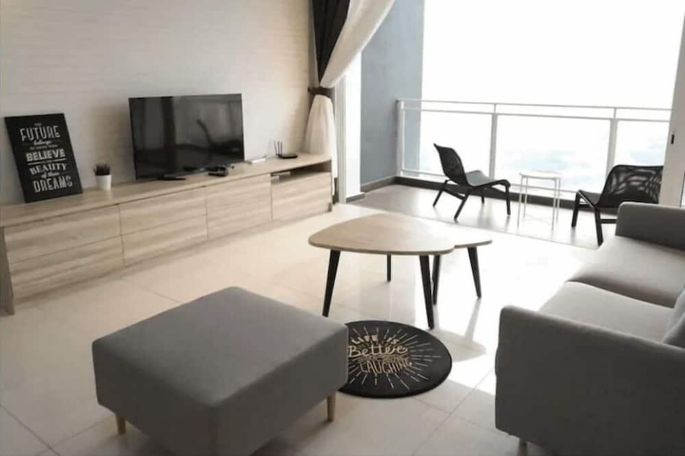 公寓, 3 間臥室, 非吸煙房 - 客廳
