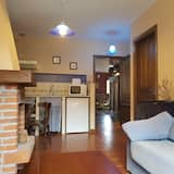 Apartment, 1 Bedroom, Fireplace, Mountain View (Riesgo) - Living Room