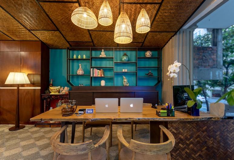 安同海灘別墅飯店, 峴港, 櫃台