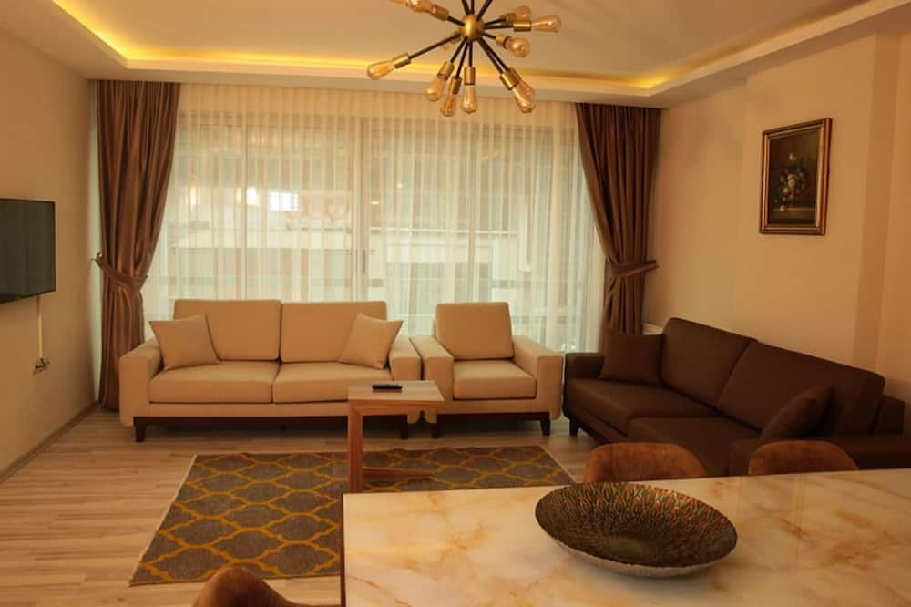 Apartmán, 4 ložnice, nekuřácký - Obývací prostor
