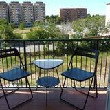 Apartmán typu Comfort, 1 spálňa, terasa - Terasa