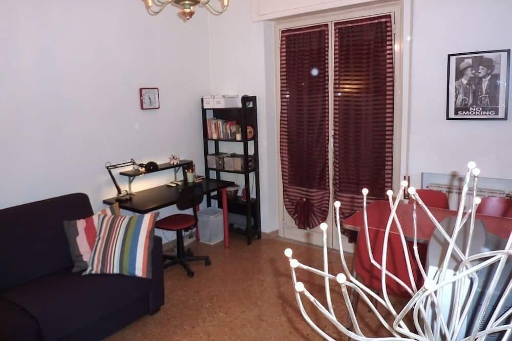 Apartmán typu Comfort, 1 spálňa, terasa - Obývacie priestory