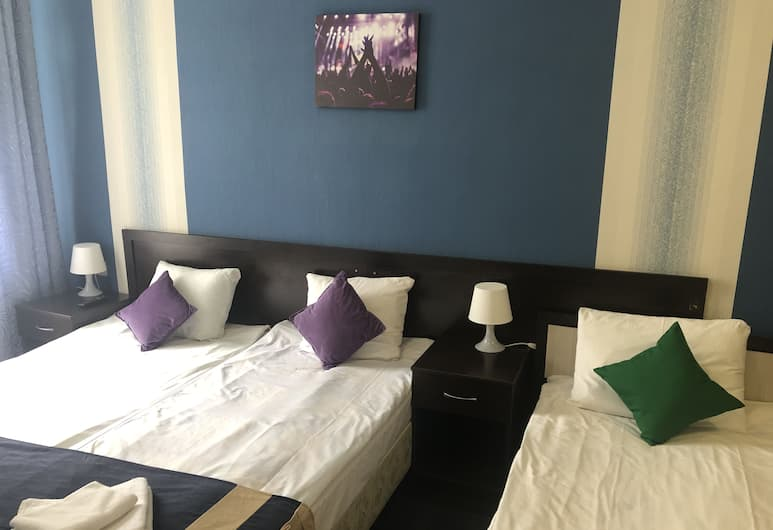 Koncert Hotel, Moscow, Family Triple Room, Guest Room