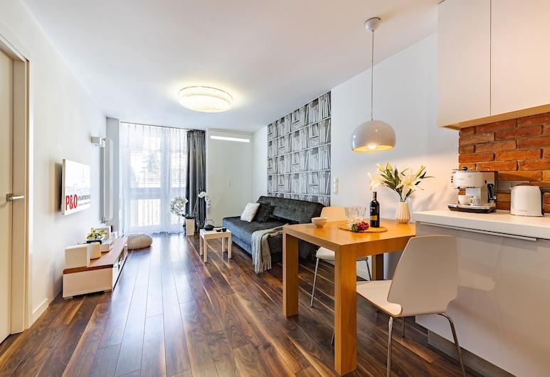 P&O Apartments Grzybowska 3, Varšava, Ekonomiskās klases dzīvokļnumurs, Dzīvojamā zona