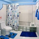 더블룸, 더블침대 1개, 금연 - 욕실