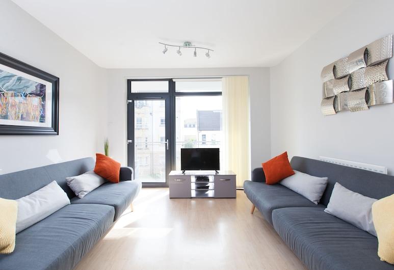 Amazing Apartments - Hopetoun Street, Édimbourg, Appartement Luxe, 1 chambre, non-fumeurs, vue ville, Coin séjour