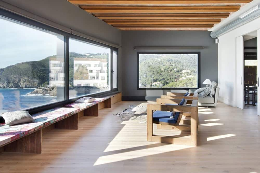 Luxury Penthouse, Sea View (Privado) - Living Area