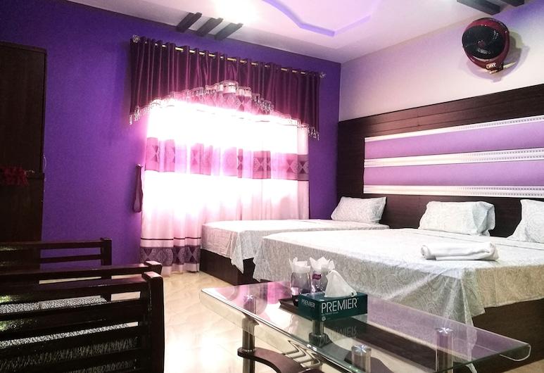 وايت بالاس جيست هاوس, كراتشي, غرفة عائلية - عدة أسرّة - لغير المدخنين, غرفة نزلاء