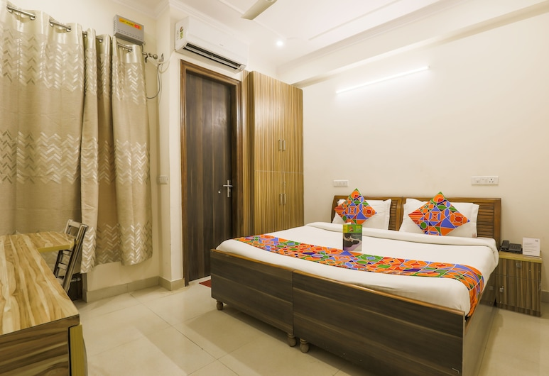 FabExpress Star Guest House, Gurugram, Camera Deluxe, 1 letto matrimoniale, non fumatori, Camera