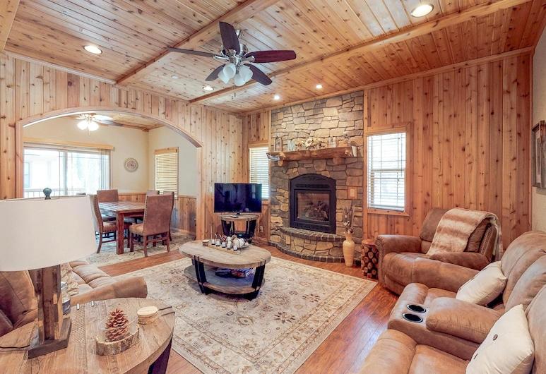 大熊度假出租屋, 大熊湖, 複式房屋, 3 間臥室, 露台 (Angel Bear), 客房