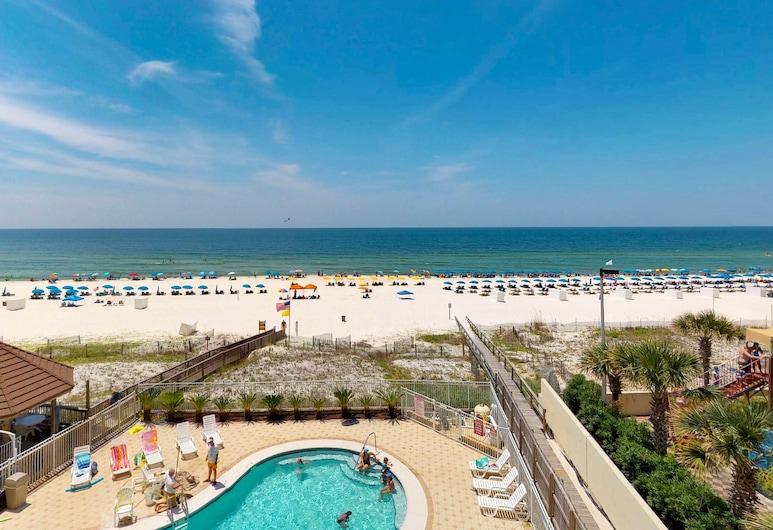 Romar Towers Condos, Orange Beach, Appart'hôtel, 3 chambres, piscine privée, vue plage (Romar Towers #4D), Plage
