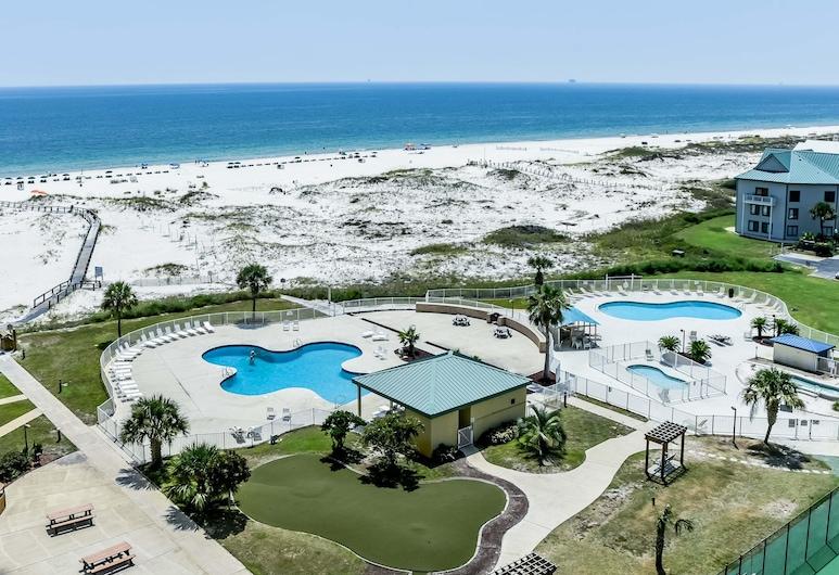 Plantation West, Gulf Shores, Condo, 2 Bedrooms, Hot Tub, Ocean View (Plantation West #1245), Resort view