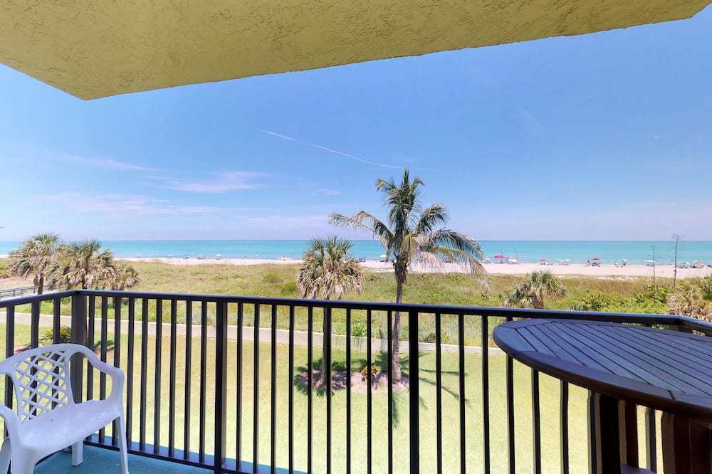 Apartment (Seaside Tiki Hut 2 Bedroom) - Balkon
